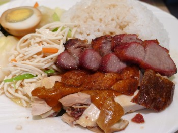 BBQ meat on rice