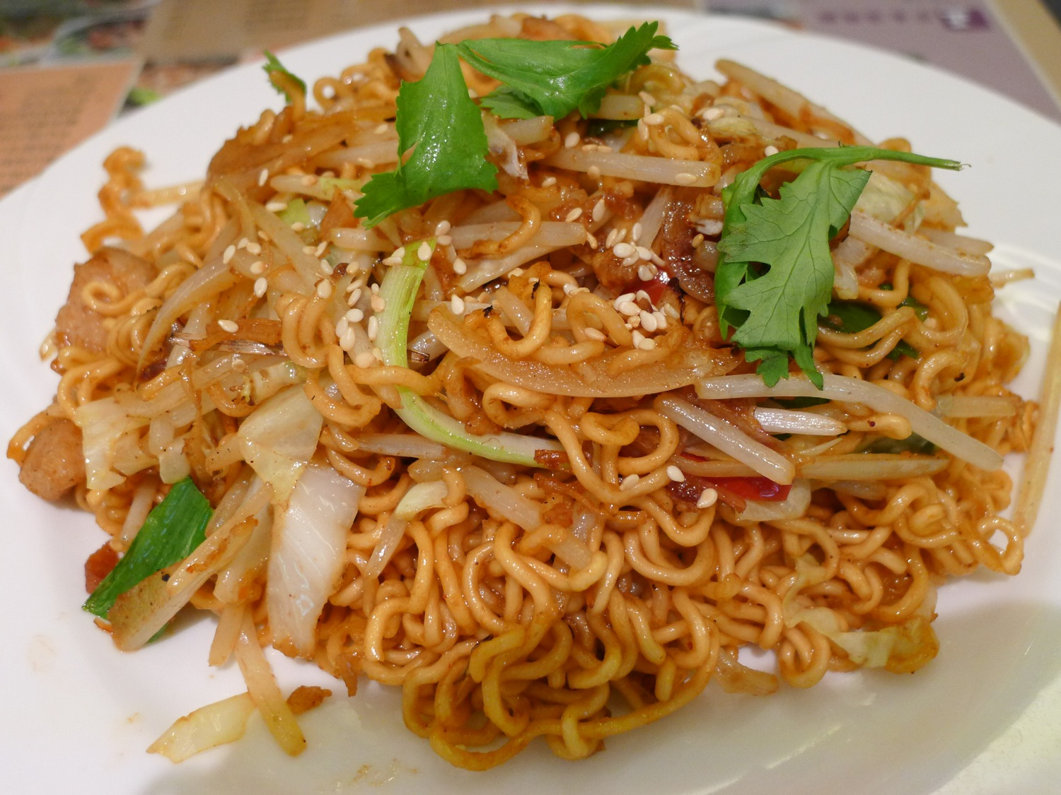 Image Gallery instant fried noodles