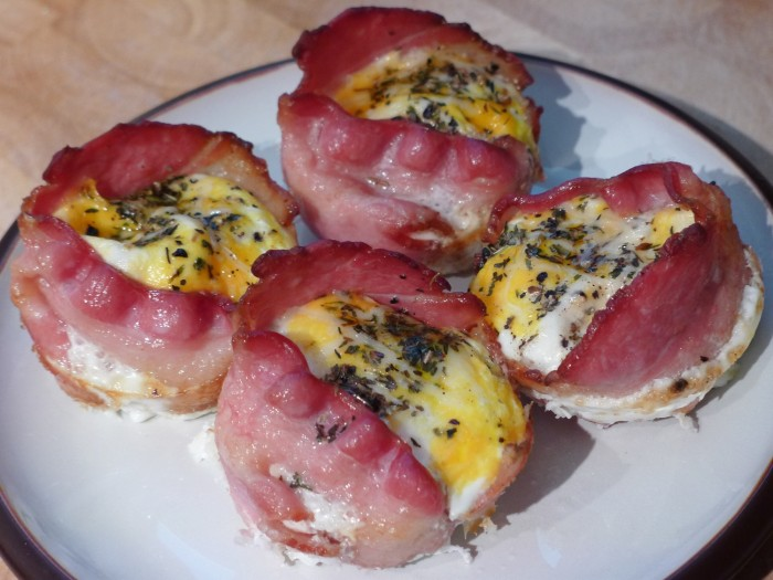 bacon wrapped eggs 4