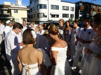 Diner en Blanc - meeting point