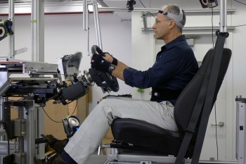 Ford Human Occupant Package Simulator (HOPS) lab 3