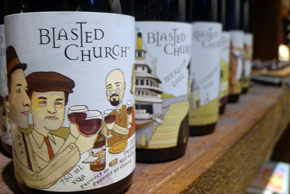 Blasted Church Vineyards 10 Year Anniversary Party At
