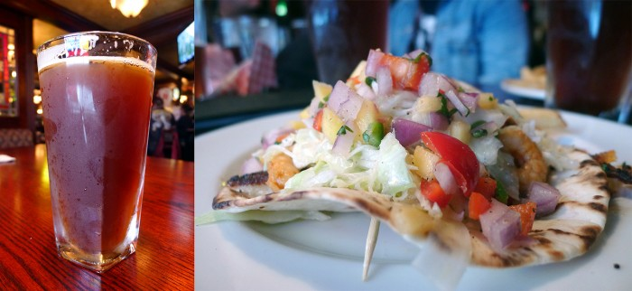 The Buck & Ear Bar & Grill - Halibut Fish Taco