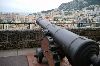 View from Prince's Palace of Monaco