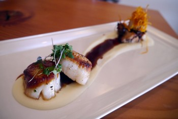 Norwoods - Seared Scallops and Grilled Octopus