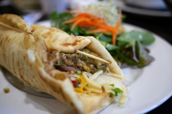 Brambles Bistro - Thai Coconut Chicken Wrap