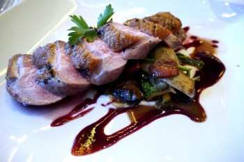 Napa Rose - Roasted Maple Leaf Duck Breast