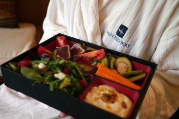 Painted Boat spa bento box