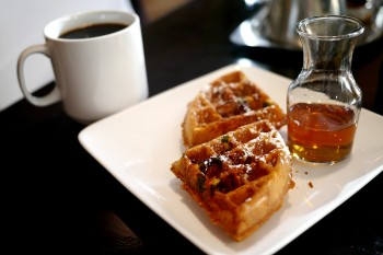 Hyatt Regency - Eques - Bacon waffles