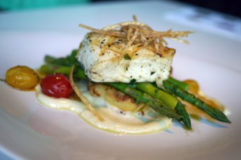 roasted ling cod