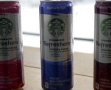 Starbucks energy drinks