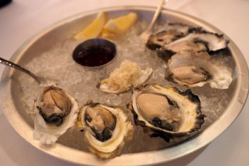 Bearfoot Bistro - oysters