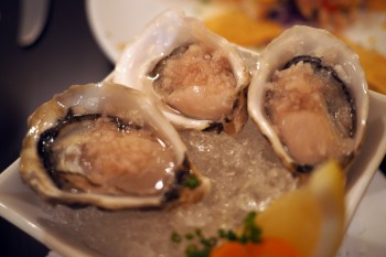 Rim Rock - Kusshi oysters