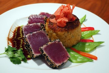 sesame-peppercorn-crusted-seared-ahi