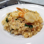 Easy weeknight cooking with Frigidaire – Seafood Risotto