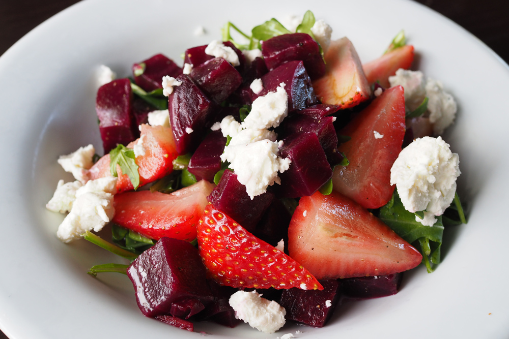 Appetito---Strawberry-beet-salad | Pangcouver